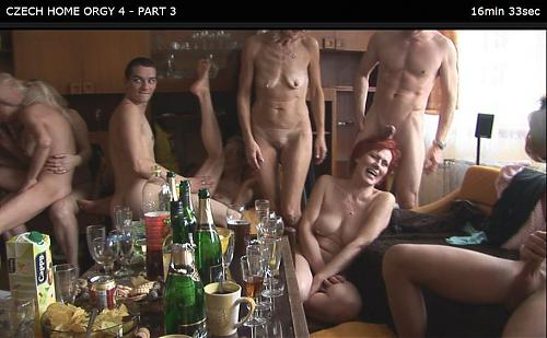CZECH HOME ORGY 4 - PART 3